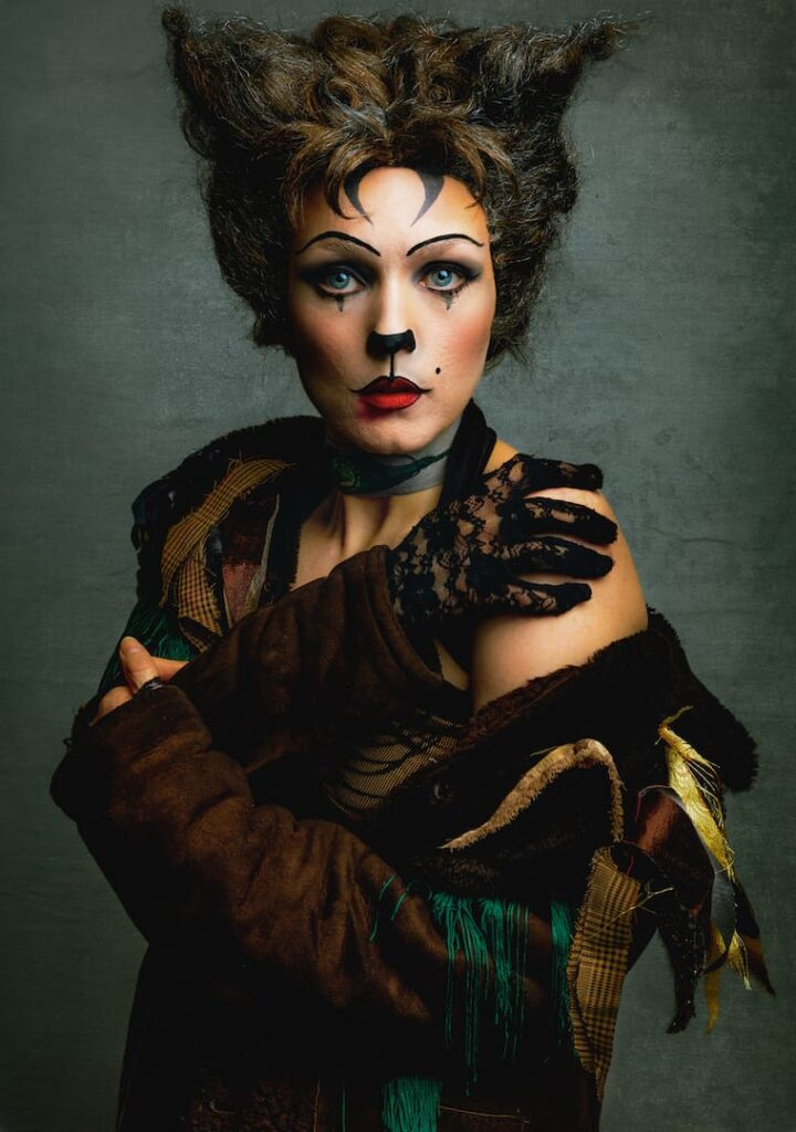 Lucy as Grizabella in Cats Musical