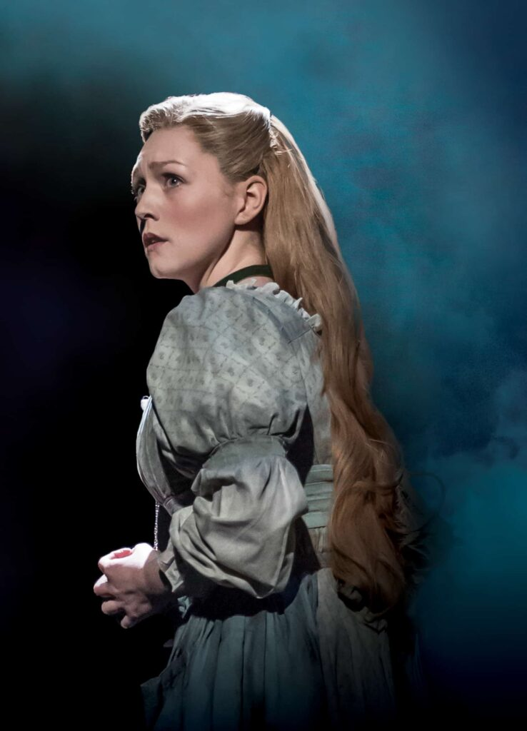 Lucy O'Byrne in Les Miserables