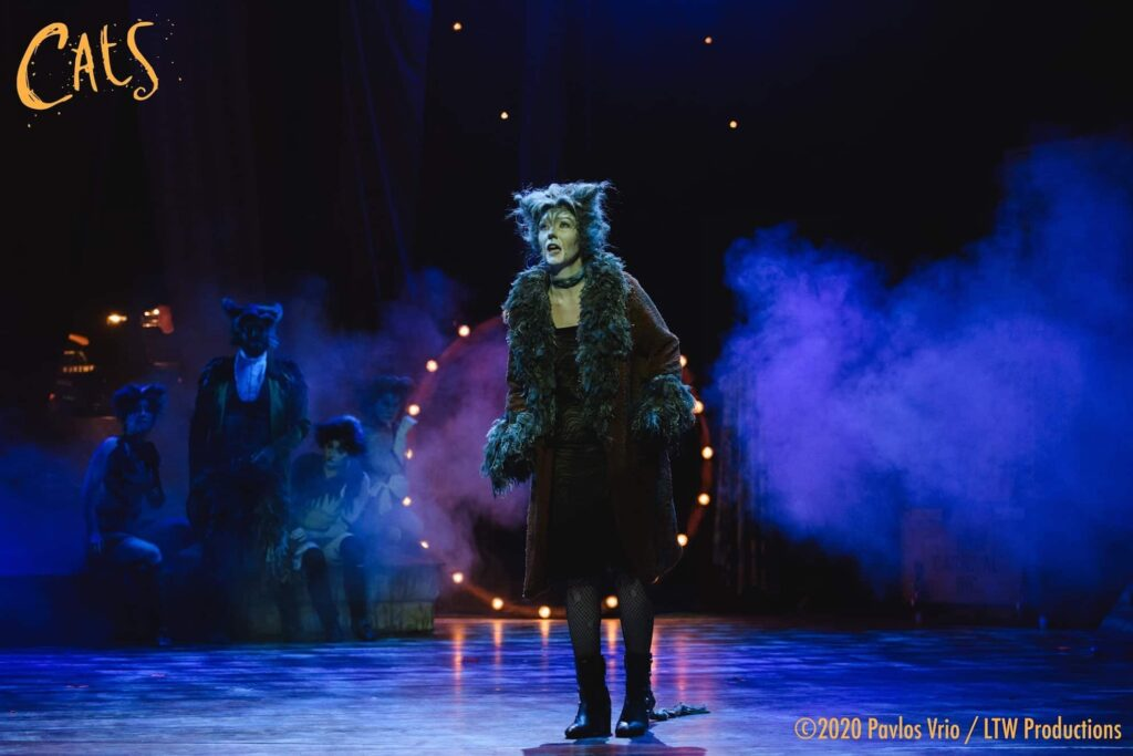 Lucy performs Memory in Cats